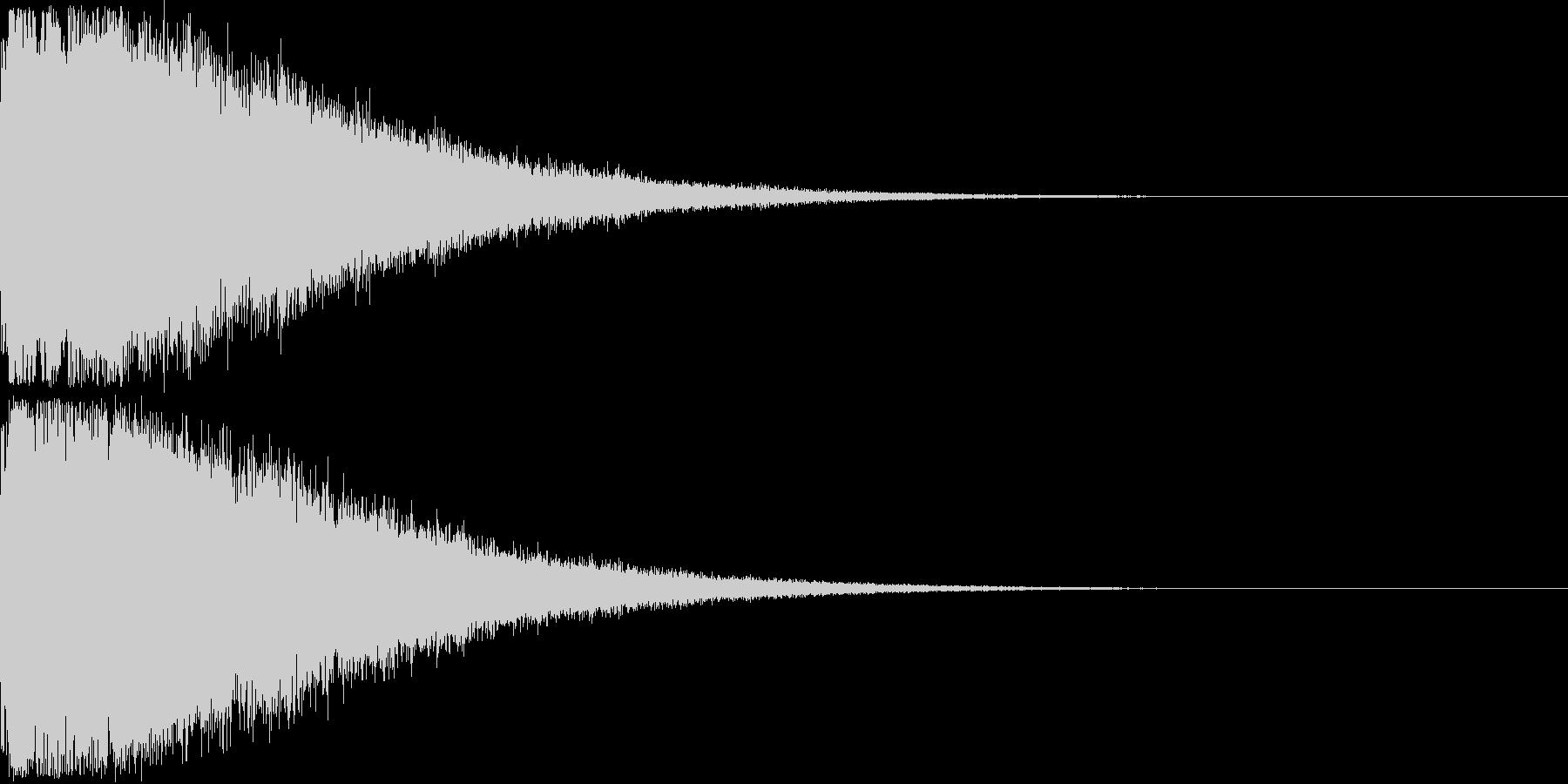 刀 剣 ソード カキーン キュイーン07の未再生の波形