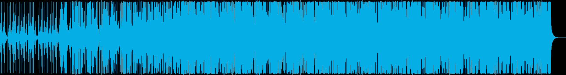 疾走感のある切ないEDMの再生済みの波形