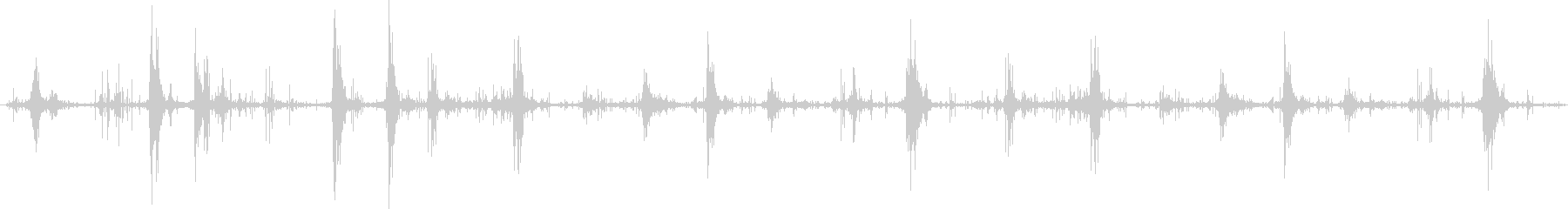 アンダーウォーター:メディウムウェ...の未再生の波形