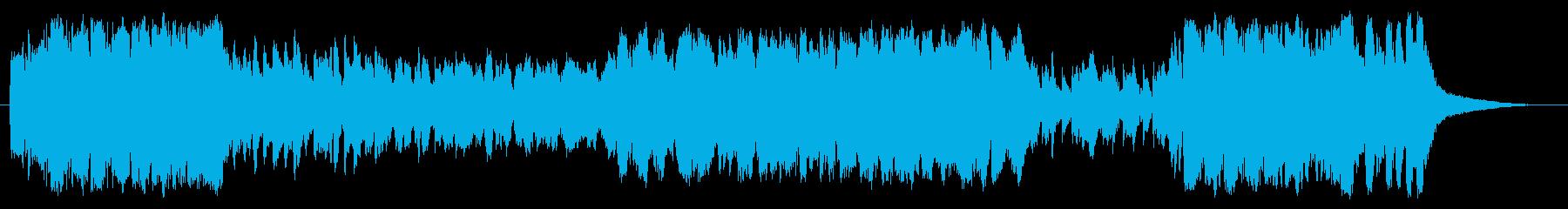吹奏楽、マーチ(行進曲)、華やかな式典Aの再生済みの波形