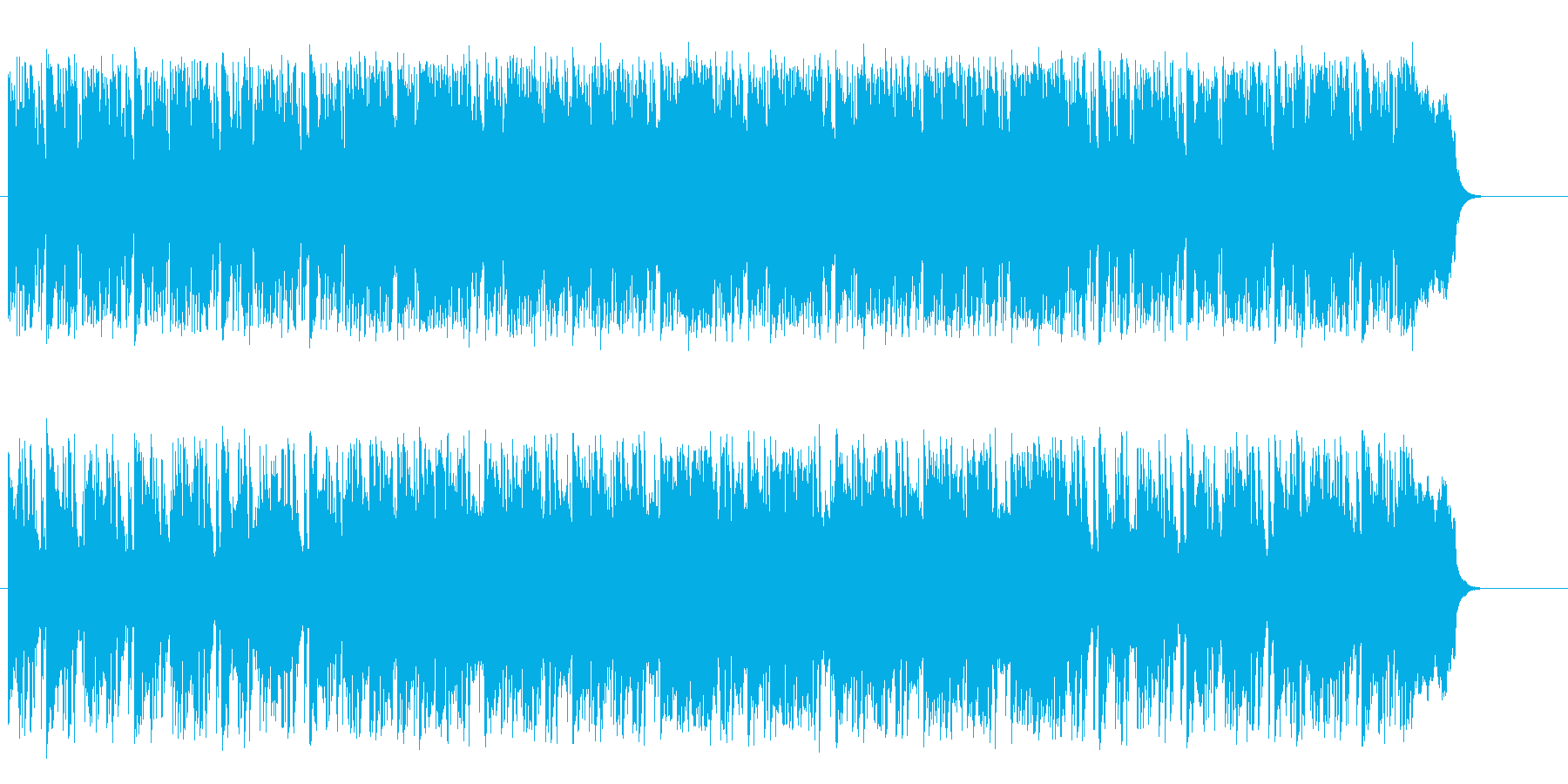 のんびり過ごすしっとりとしたバラードの再生済みの波形