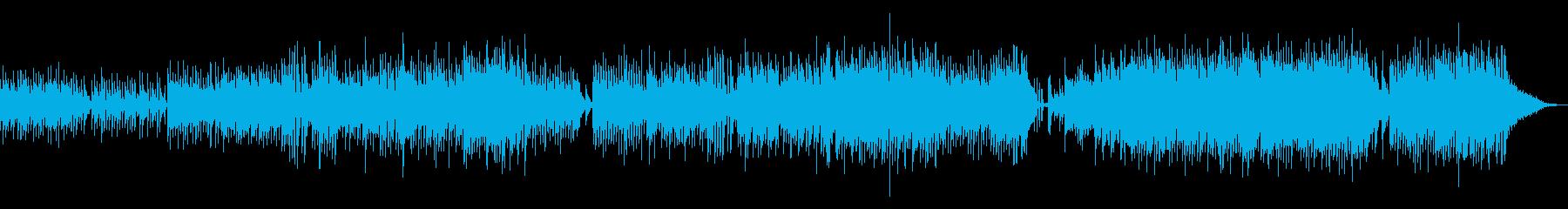 愉快でかわいいオーケストラマーチの再生済みの波形