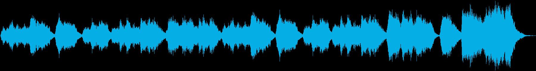 弦楽中心の荘厳なクラシックの再生済みの波形