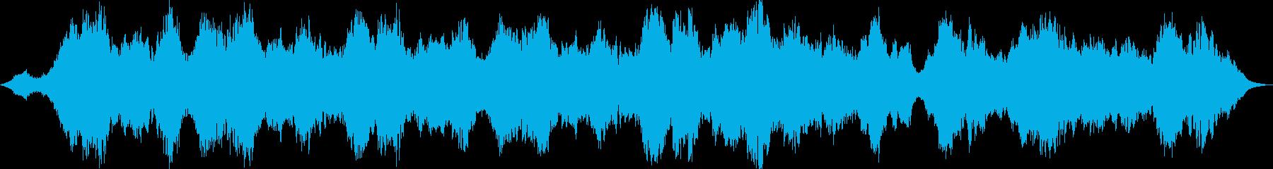 波の音と回想の再生済みの波形