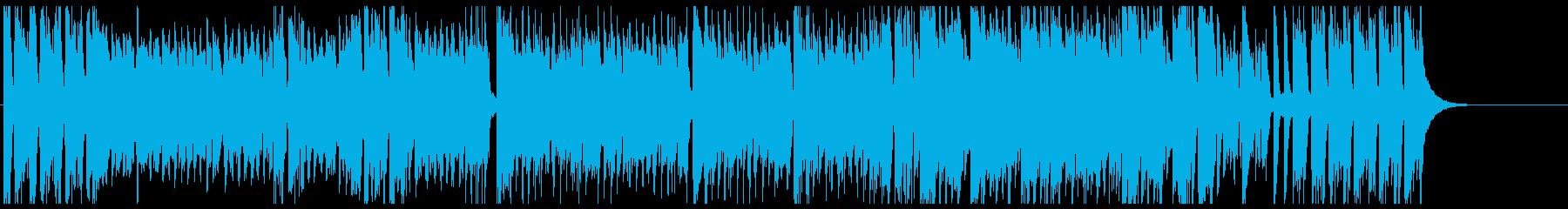 ショータイム テーマ にぎやか 夜 躍動の再生済みの波形