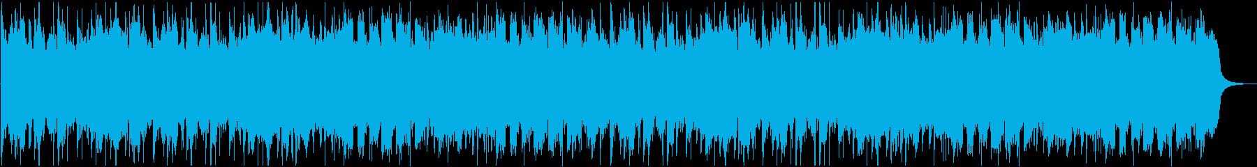 和風な温泉村っぽいBGM(2ループ)の再生済みの波形