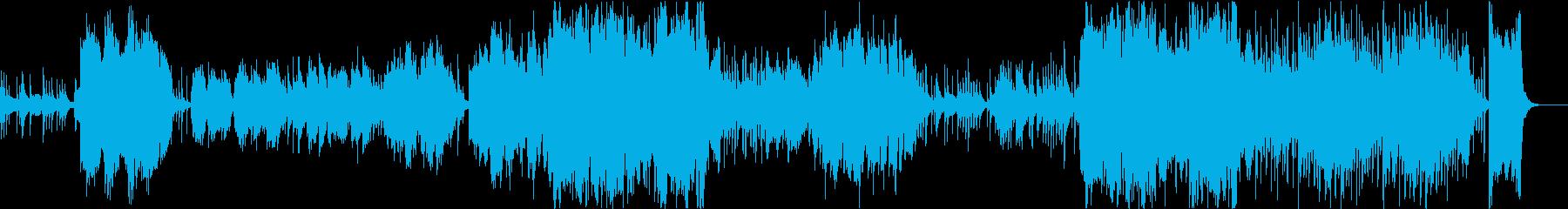 尺八メインの感動的な和風バラードの再生済みの波形