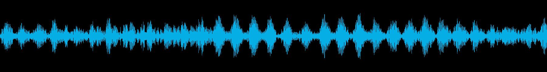 複数の宇宙船エンジンループ。エイリ...の再生済みの波形