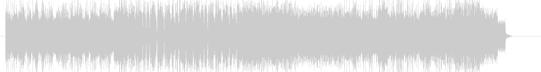 DEATHCORE/HARDCOREの未再生の波形