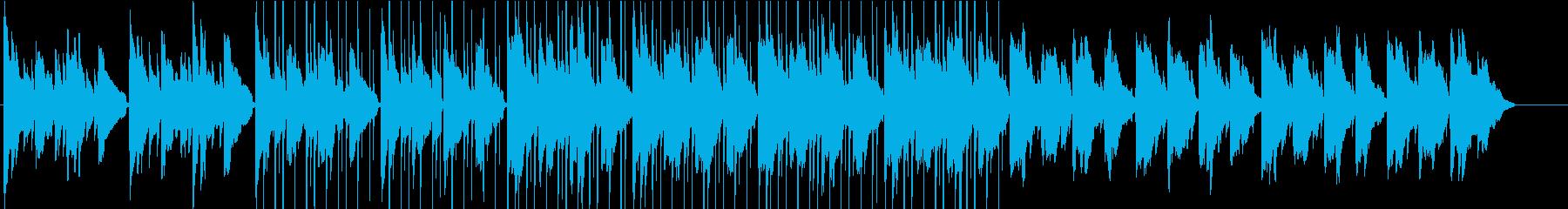 落ちつきたい時にの再生済みの波形