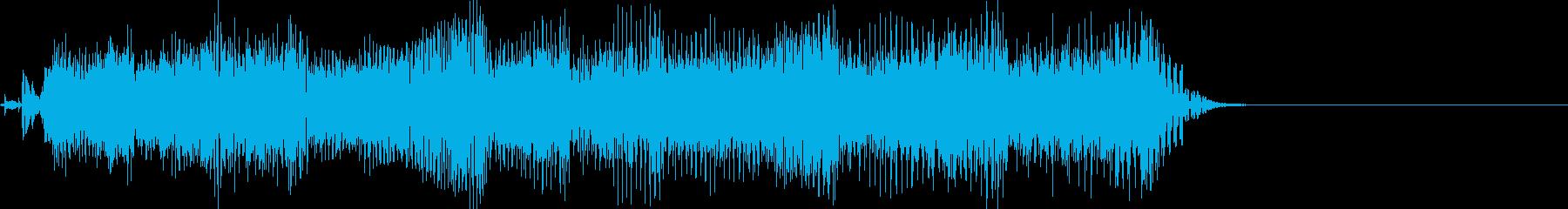 ★ジングル★マイナーロックギターリフの再生済みの波形