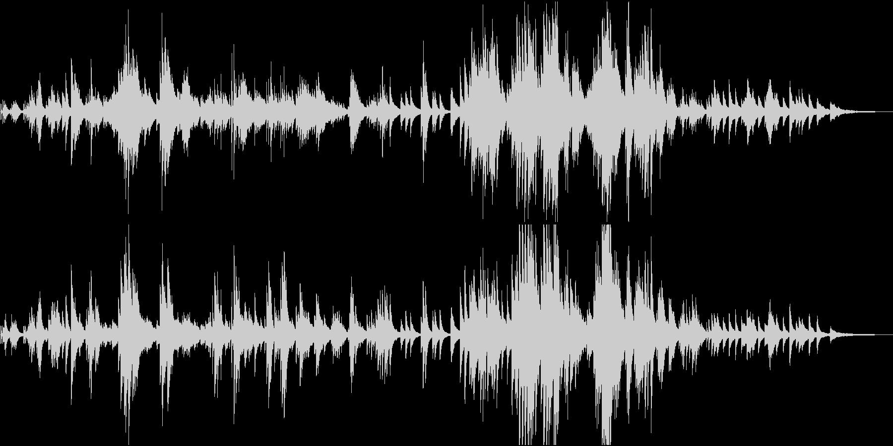 生演奏 プラネタリウム風ピアノソロの未再生の波形