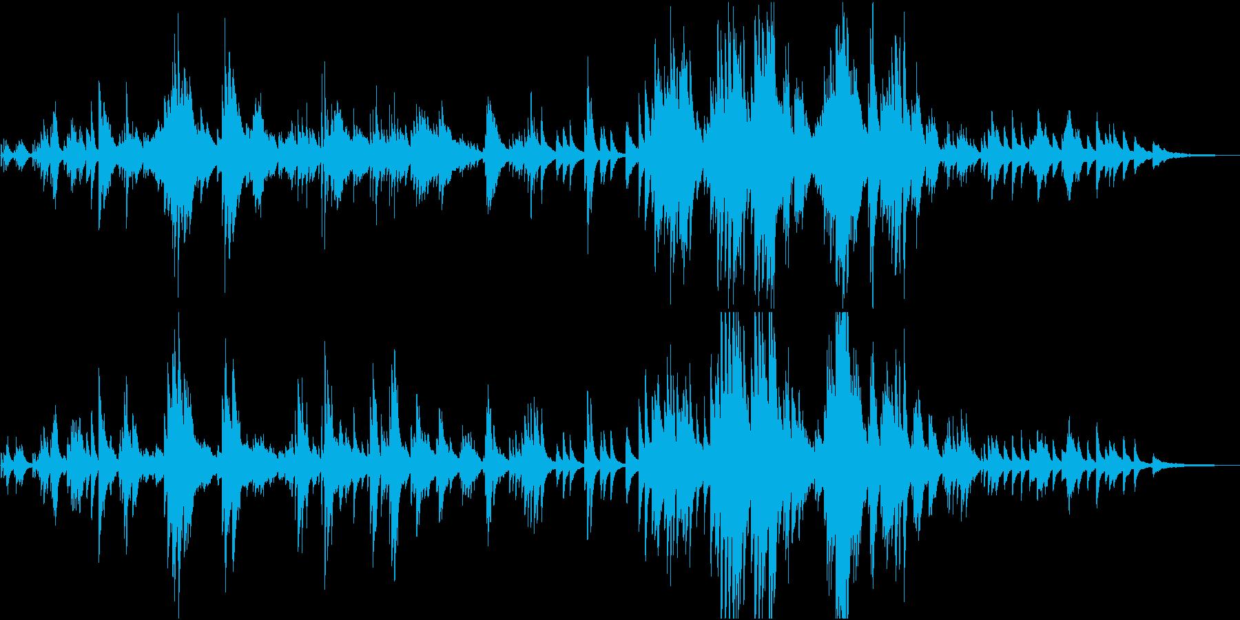 生演奏 プラネタリウム風ピアノソロの再生済みの波形