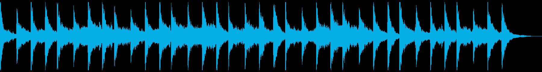 横顔の再生済みの波形