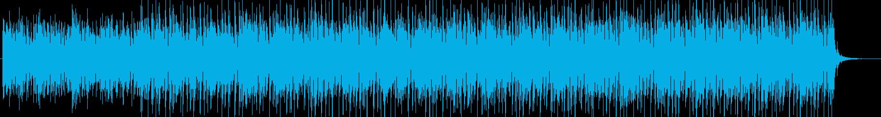 大人っぽくムーディなバラードBGMの再生済みの波形