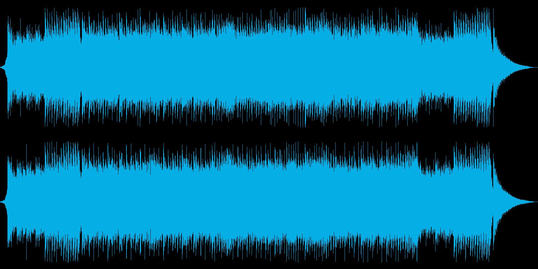 爽やかでキュートなポップサウンドの再生済みの波形