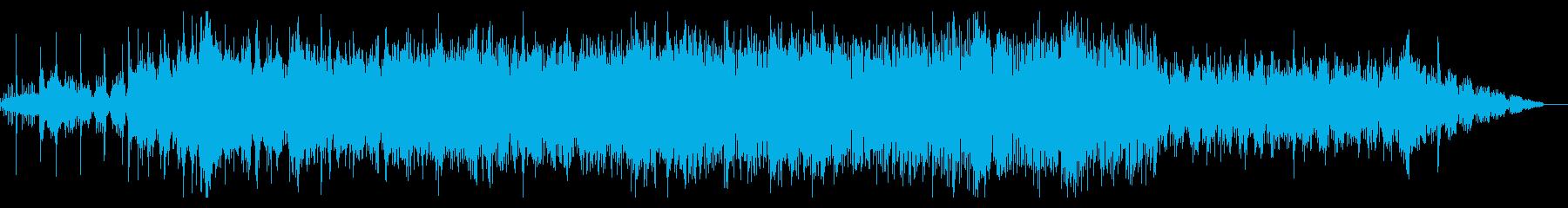 不気味に唸るようなIDMの再生済みの波形