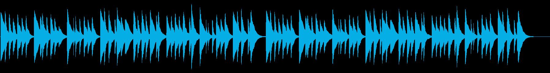 妹背をちぎる 18弁オルゴール の再生済みの波形
