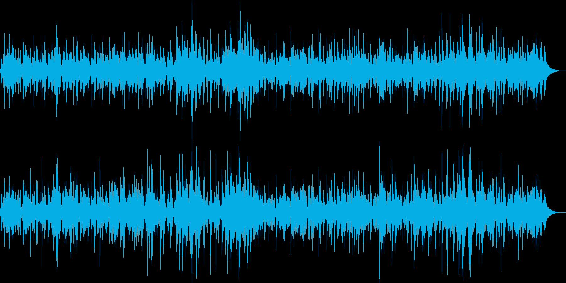 サーフビーチの風を感じるソフトなボサノバの再生済みの波形