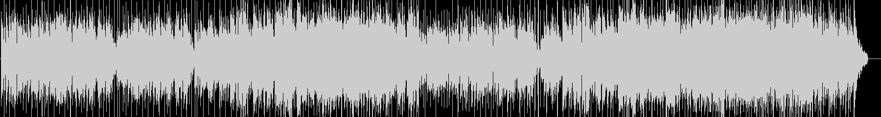 シンセリードとピアノの落ち着いたラウンジの未再生の波形