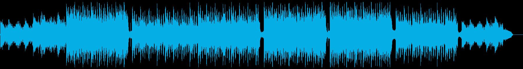 明るく爽やかなピアノ&シンセ:メロディ抜の再生済みの波形