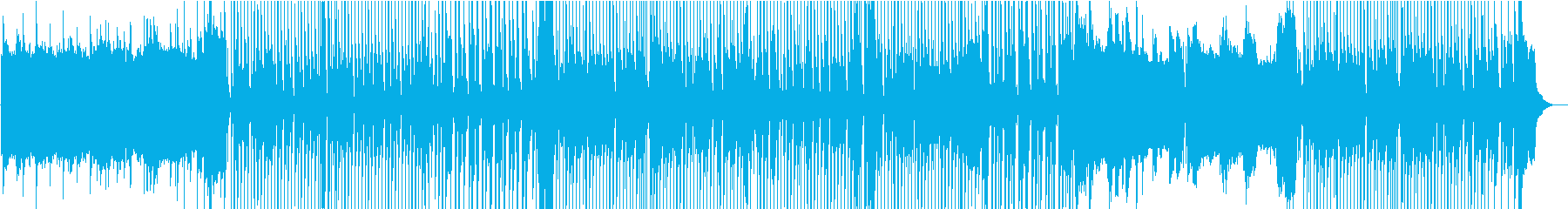 軽快でメランコリックなメロディーを...の再生済みの波形