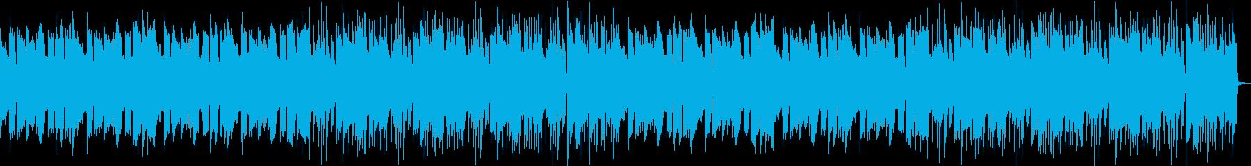 夏休みっぽいほのぼのBGMの再生済みの波形