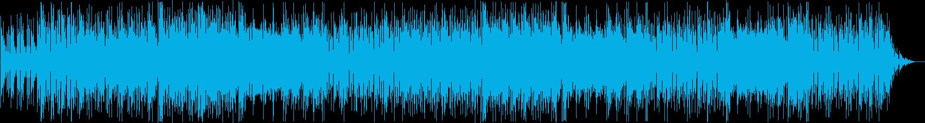 ロック調、シンセリードのインストの再生済みの波形