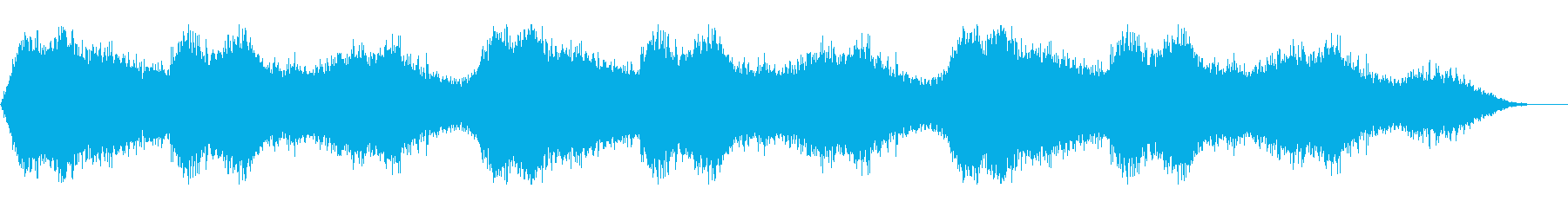 幻想的な海の中/深海/水がキラキラするの再生済みの波形