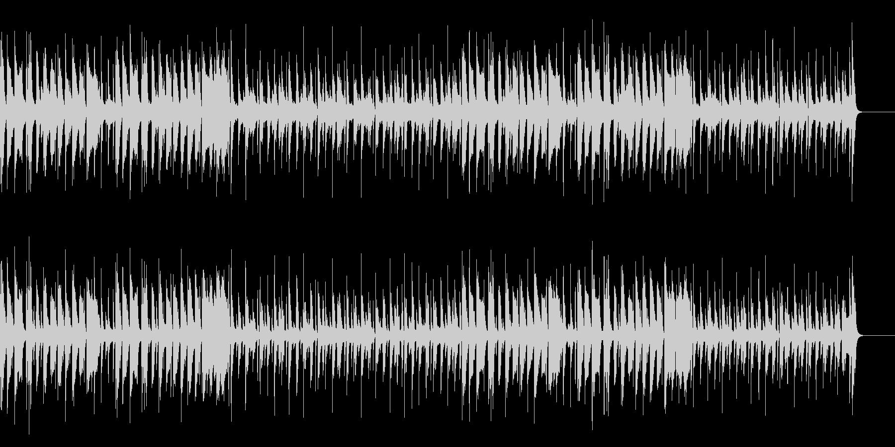 脱力・口笛とウクレレと木琴のコミカル曲の未再生の波形
