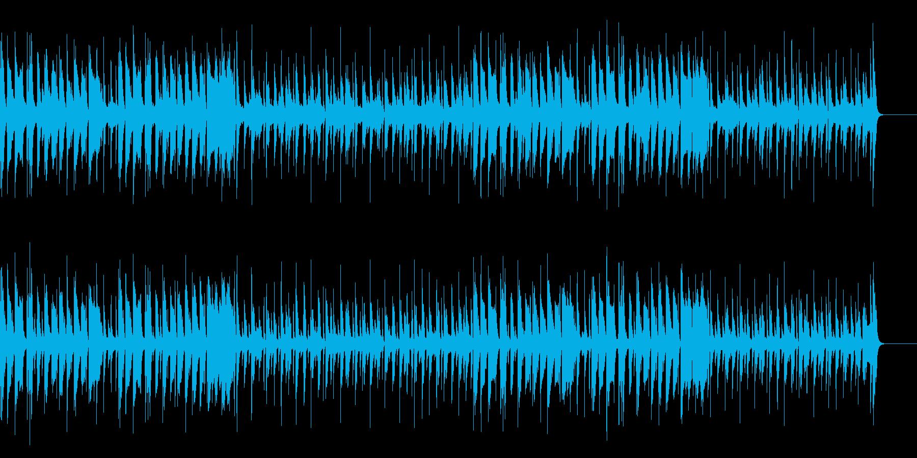 脱力・口笛とウクレレと木琴のコミカル曲の再生済みの波形