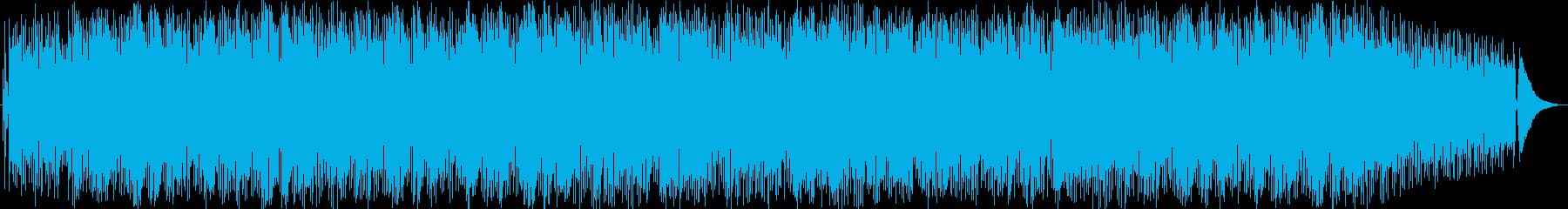 ラテン ジャズ バサノバ ゆっくり...の再生済みの波形
