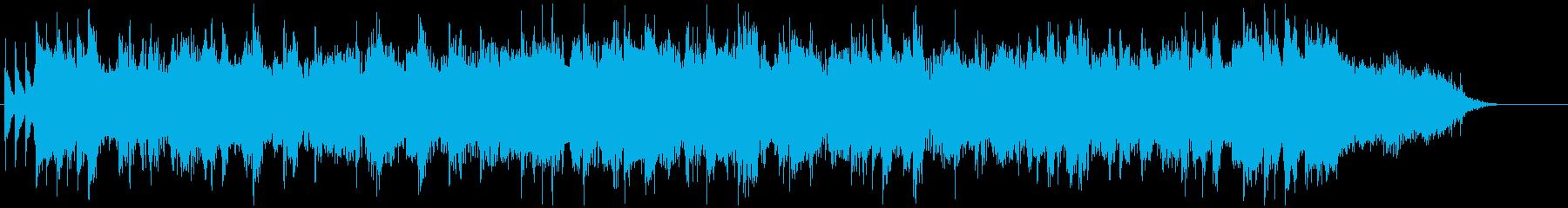 ロックギタージングル【30秒】の再生済みの波形