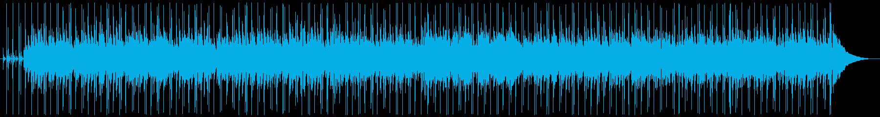 オールディーズ風なさわやかナンバーの再生済みの波形
