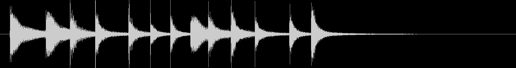 ドラム/ティンバレス フィルイン 25の未再生の波形