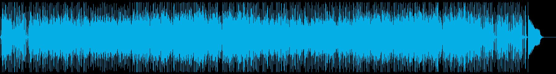 優雅でゴージャスなミディアムテンポ楽曲の再生済みの波形