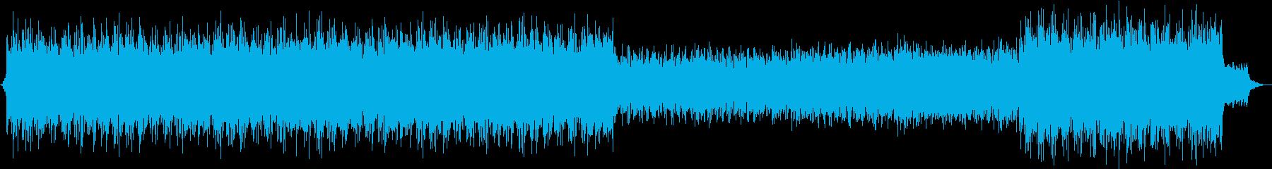 感動的なピアノ音楽。の再生済みの波形