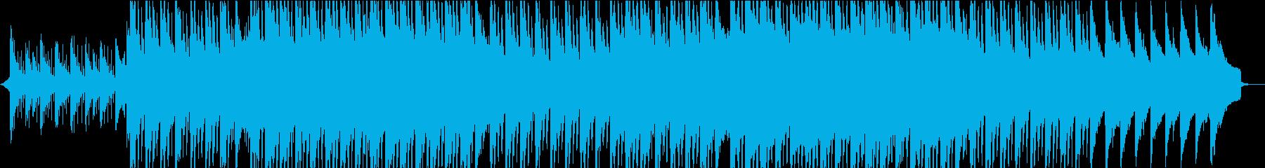 優しい・あたたかい・ピアノのコーポレートの再生済みの波形