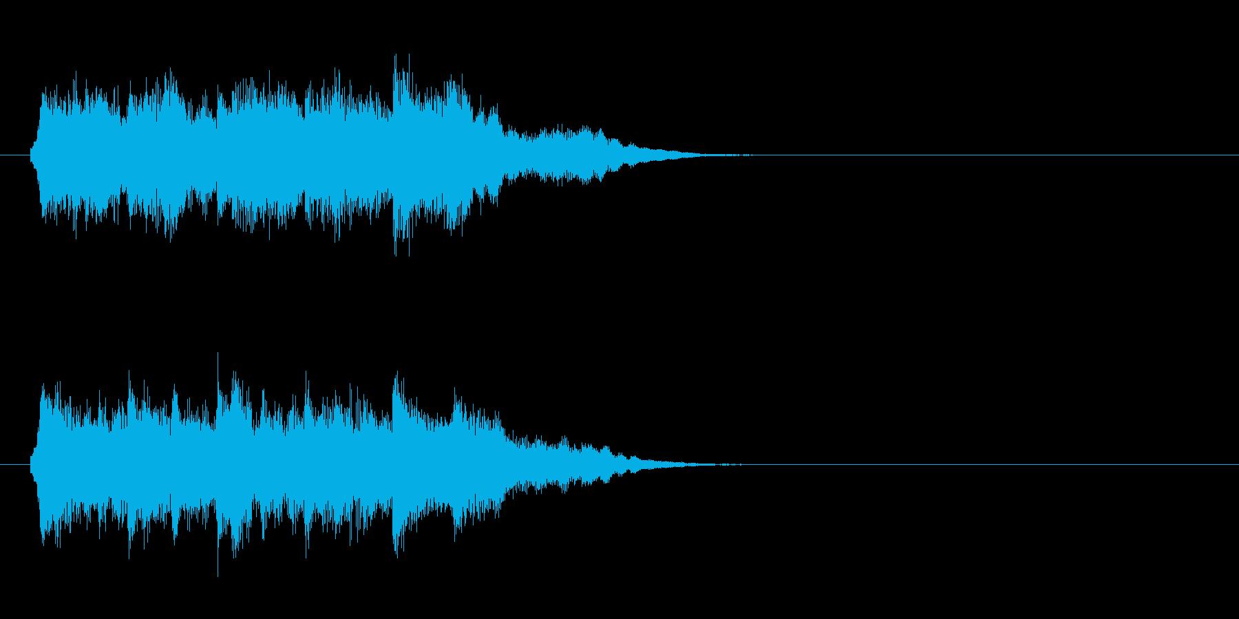 ジングル/環境(サウンド・ロゴ風)の再生済みの波形