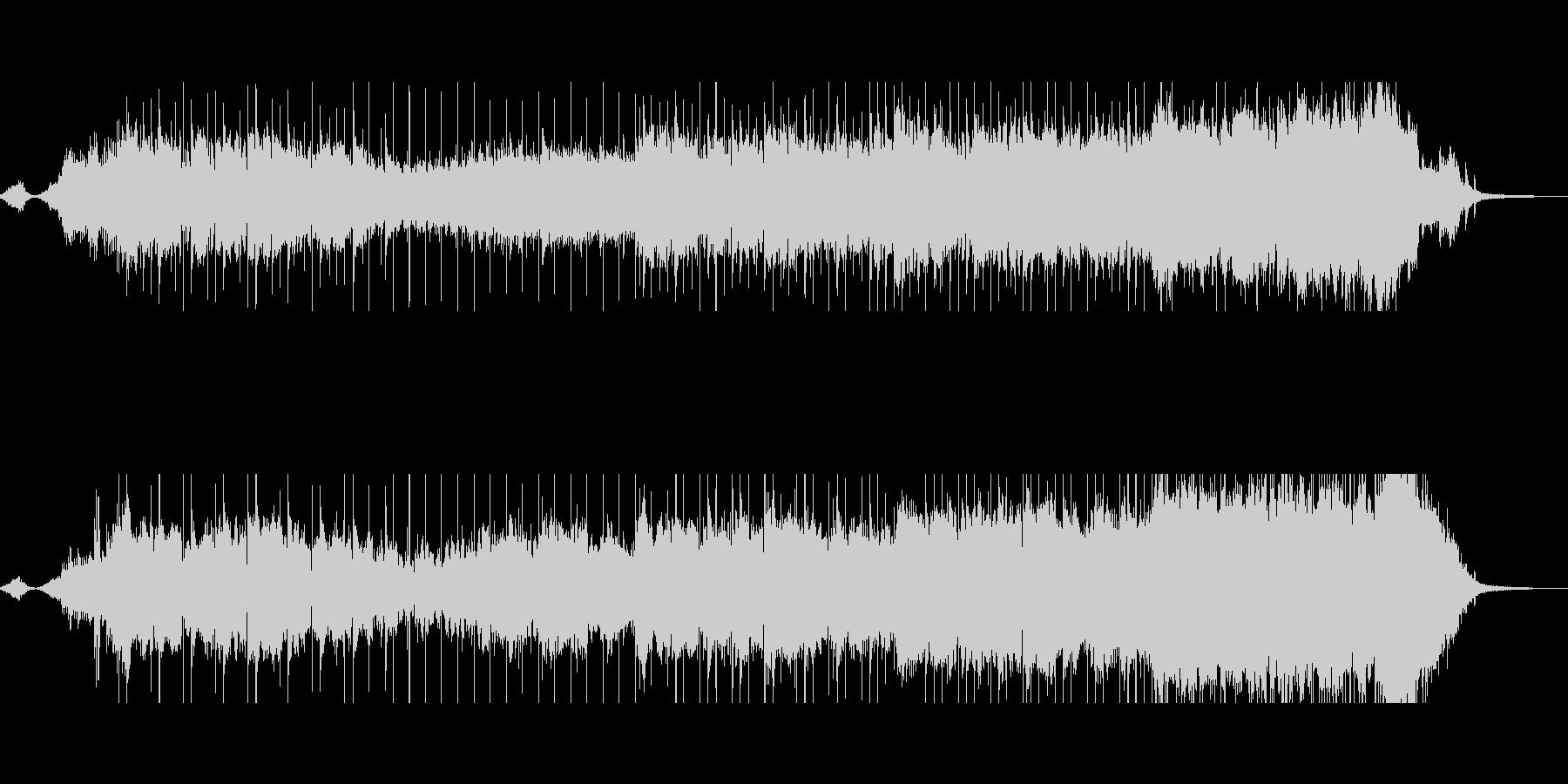 和風でセンチメンタルな ドラマ挿入曲風の未再生の波形