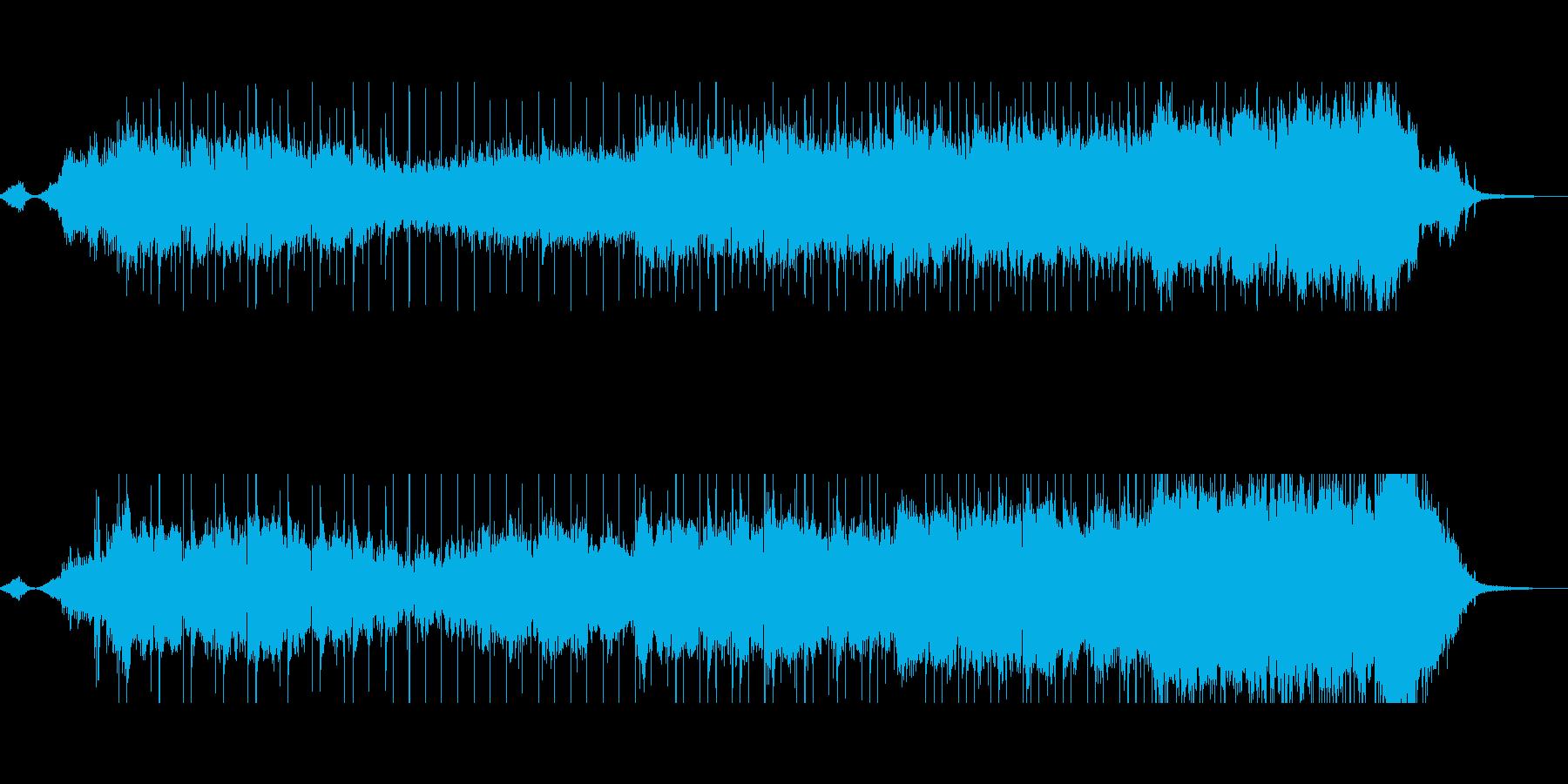 和風でセンチメンタルな ドラマ挿入曲風の再生済みの波形