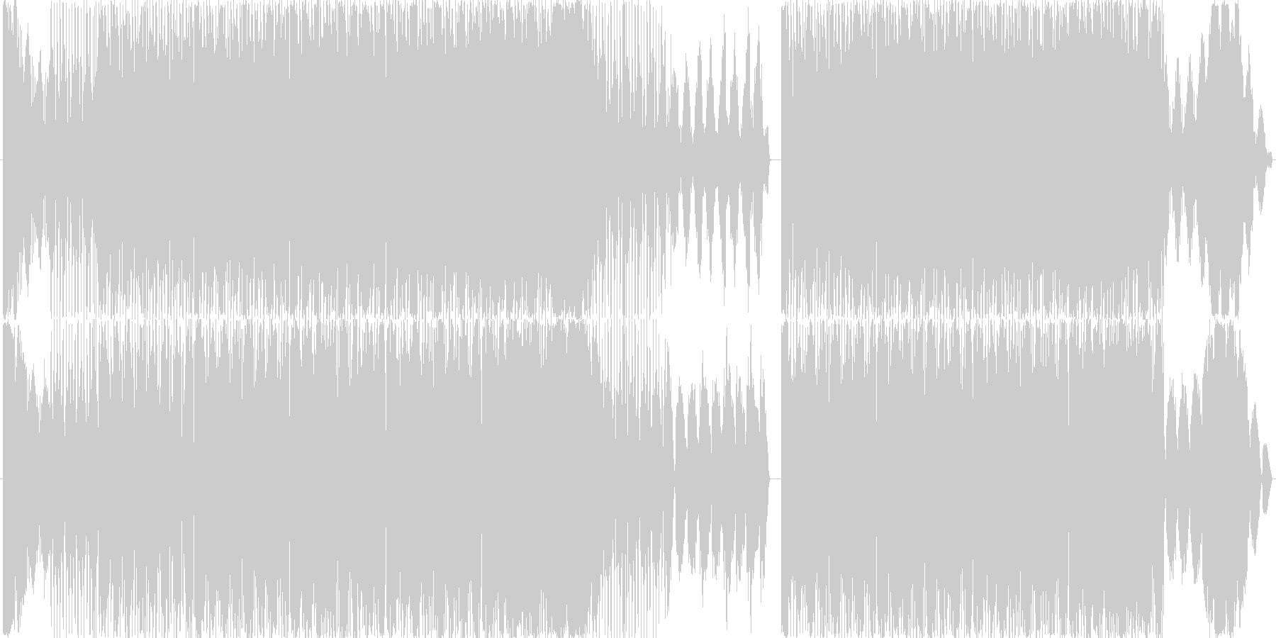 アシッドトランスです。タイトルになって…の未再生の波形