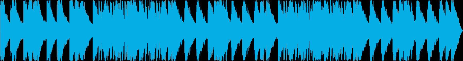 打楽器のみによるドラムマーチの再生済みの波形