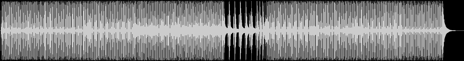 ほんわか日常ウクレレピアノポップの未再生の波形