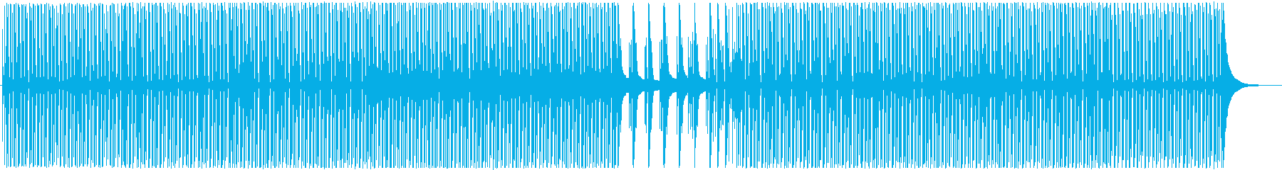 ほんわか日常ウクレレピアノポップの再生済みの波形