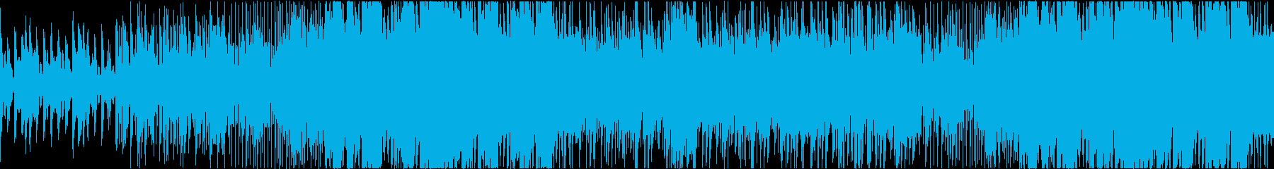 マイナーの切ないfuture bassの再生済みの波形
