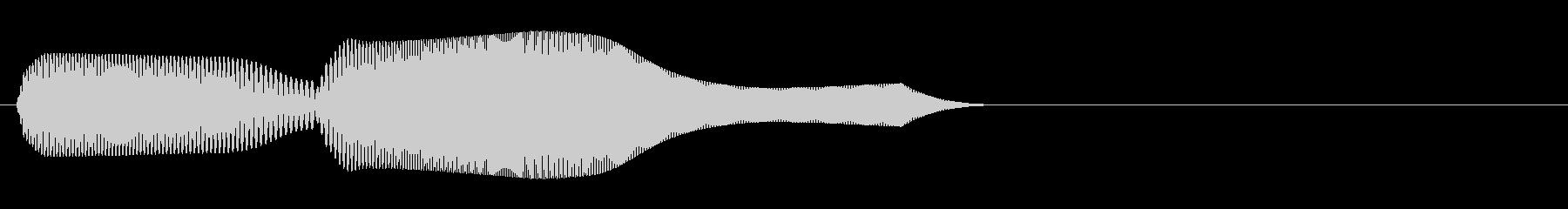 ピコン!01 字幕表示・タッチ・動作等の未再生の波形