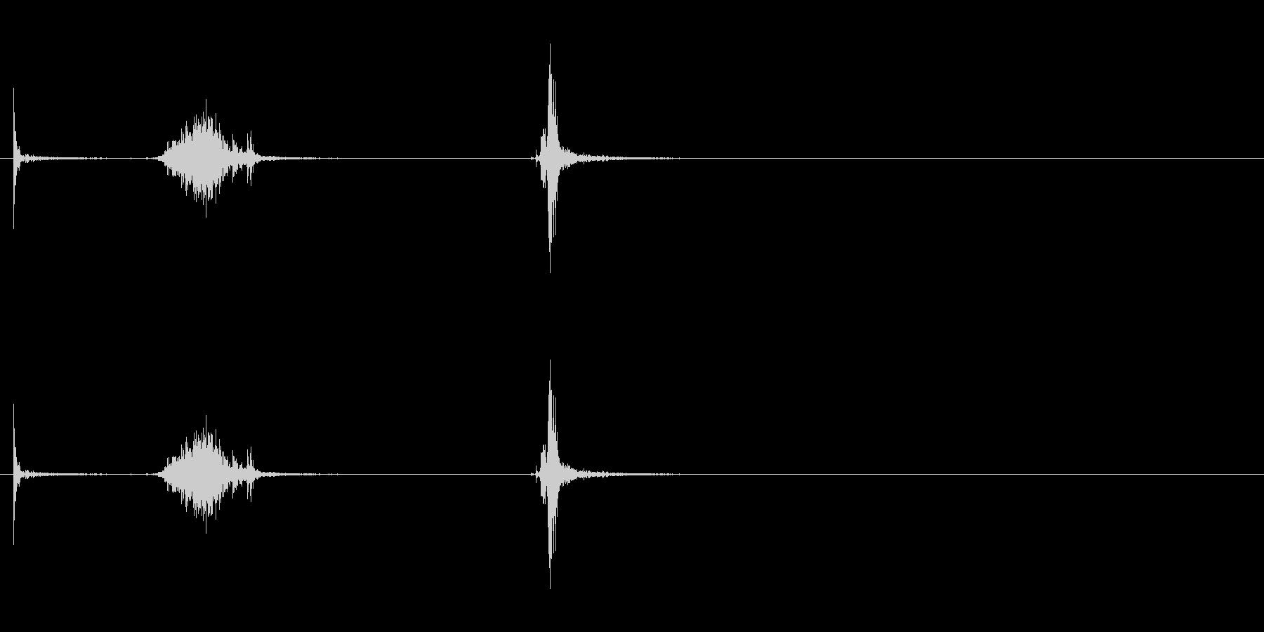 プシュ! プルタブを開ける音 炭酸の未再生の波形