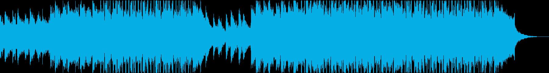 スタイリッシュな音と夏の組成物の再生済みの波形
