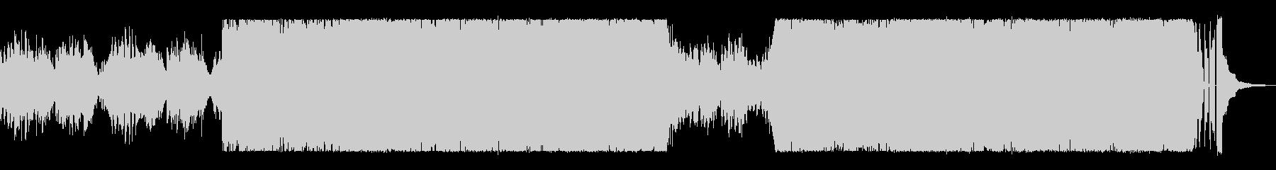 童謡の雰囲気のあるホラーBGMの未再生の波形